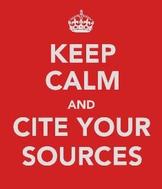copyright checker cite sources