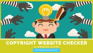 copyright checker hacks