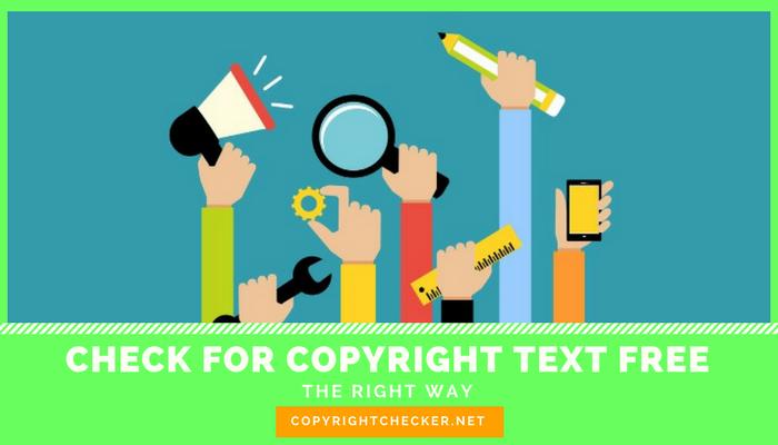 copyright checker free